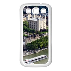 Tower Of London 1 Samsung Galaxy S3 Back Case (white) by trendistuff