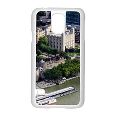 Tower Of London 1 Samsung Galaxy S5 Case (white) by trendistuff