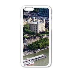 Tower Of London 1 Apple Iphone 6/6s White Enamel Case by trendistuff