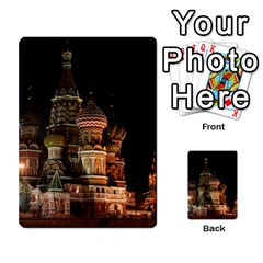 St Basil s Cathedral Multi Purpose Cards (rectangle)  by trendistuff