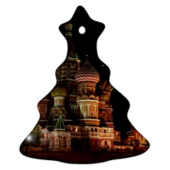 St Basil s Cathedral Christmas Tree Ornament (2 Sides) by trendistuff