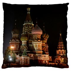 St Basil s Cathedral Large Cushion Cases (two Sides)  by trendistuff