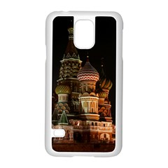 St Basil s Cathedral Samsung Galaxy S5 Case (white)