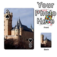 Segovia Castle Playing Cards 54 Designs  by trendistuff