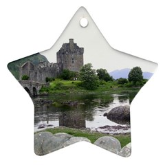 Scotland Eilean Donan Star Ornament (two Sides)  by trendistuff