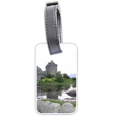Scotland Eilean Donan Luggage Tags (one Side)  by trendistuff