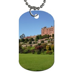 Powis Castle Terraces Dog Tag (one Side) by trendistuff