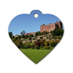 Powis Castle Terraces Dog Tag Heart (one Side) by trendistuff