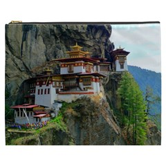 Paro Taktsang Cosmetic Bag (xxxl)  by trendistuff