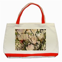 Art Studio 7216 Classic Tote Bag (red)  by MoreColorsinLife