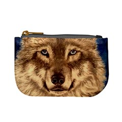 Wolf Mini Coin Purses by ArtByThree