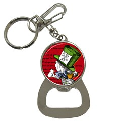 The Mad Hatter Bottle Opener Key Chains