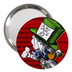 The Mad Hatter 3  Handbag Mirrors