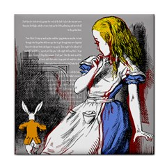 Alice In Wonderland Tile Coasters by waywardmuse