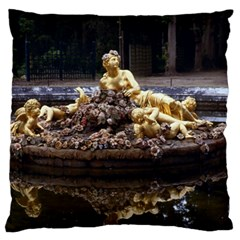 Palace Of Versailles 3 Large Flano Cushion Cases (two Sides)  by trendistuff