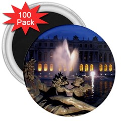 Palace Of Versailles 2 3  Magnets (100 Pack) by trendistuff
