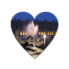 Palace Of Versailles 2 Heart Magnet by trendistuff