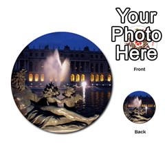 Palace Of Versailles 2 Multi Purpose Cards (round)  by trendistuff
