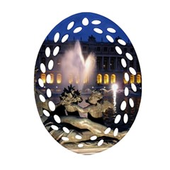 Palace Of Versailles 2 Ornament (oval Filigree)  by trendistuff