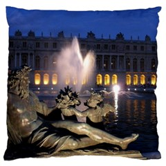 Palace Of Versailles 2 Large Flano Cushion Cases (one Side)  by trendistuff