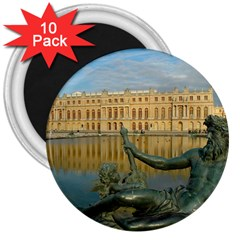 Palace Of Versailles 1 3  Magnets (10 Pack)  by trendistuff