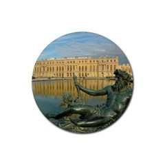Palace Of Versailles 1 Rubber Round Coaster (4 Pack)  by trendistuff
