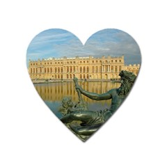 Palace Of Versailles 1 Heart Magnet by trendistuff