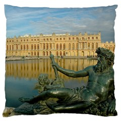 Palace Of Versailles 1 Large Flano Cushion Cases (one Side)