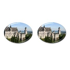 Neuschwanstein Castle 2 Cufflinks (oval) by trendistuff