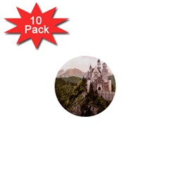 Neuschwanstein Castle 1  Mini Buttons (10 Pack)  by trendistuff