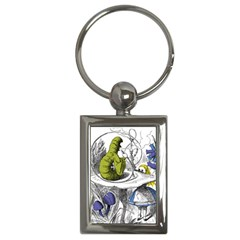 Alice In Wonderland Key Chains (rectangle)