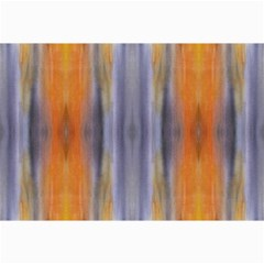 Gray Orange Stripes Painting Collage 12  X 18  by Costasonlineshop