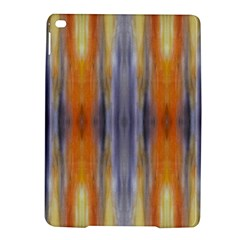 Gray Orange Stripes Painting Ipad Air 2 Hardshell Cases by Costasonlineshop