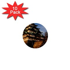 Nagoya Castle 1  Mini Buttons (10 Pack)  by trendistuff