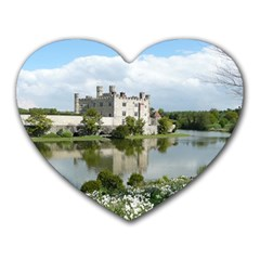 Leeds Castle Heart Mousepads by trendistuff