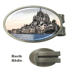 Le Mont St Michel 2 Money Clips (oval)  by trendistuff