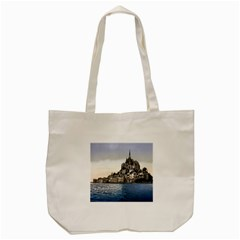 Le Mont St Michel 2 Tote Bag (cream)
