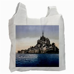 Le Mont St Michel 2 Recycle Bag (two Side)  by trendistuff