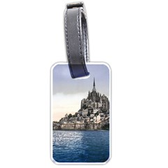 Le Mont St Michel 2 Luggage Tags (one Side)  by trendistuff