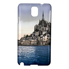 Le Mont St Michel 2 Samsung Galaxy Note 3 N9005 Hardshell Case by trendistuff