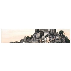 Le Mont St Michel 2 Flano Scarf (small)  by trendistuff