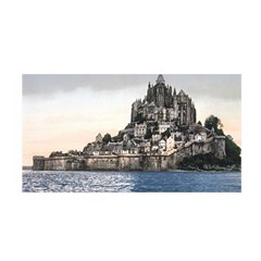 Le Mont St Michel 2 Satin Wrap by trendistuff