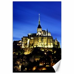 Le Mont St Michel 1 Canvas 12  X 18   by trendistuff