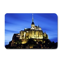Le Mont St Michel 1 Small Doormat  by trendistuff