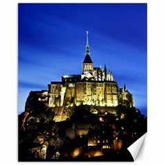 Le Mont St Michel 1 Canvas 11  X 14   by trendistuff