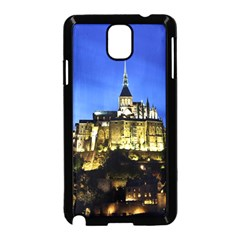 Le Mont St Michel 1 Samsung Galaxy Note 3 Neo Hardshell Case (black) by trendistuff