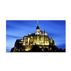 Le Mont St Michel 1 Satin Wrap by trendistuff