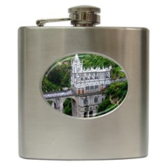 Las Lajas Sanctuary 2 Hip Flask (6 Oz) by trendistuff