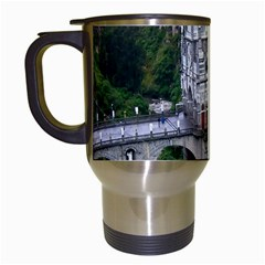 Las Lajas Sanctuary 2 Travel Mugs (white) by trendistuff
