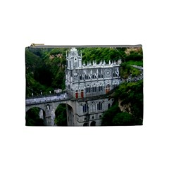Las Lajas Sanctuary 2 Cosmetic Bag (medium)  by trendistuff